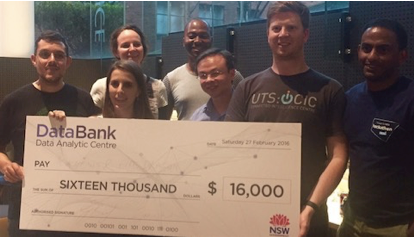 MDSI students shine (again) in NSW Gov Data Challenge
