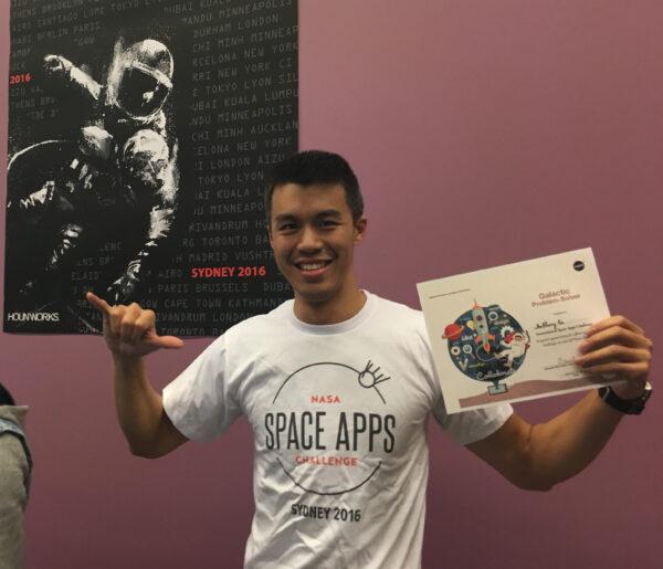 Hackathon – NASA Space App 2016