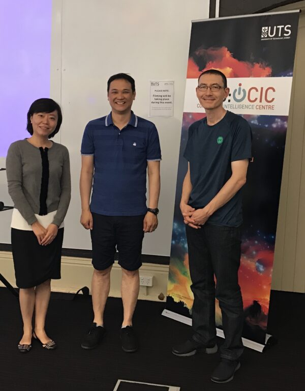 CIC welcomes directors of the first Learning Analytics Centres in both China and Japan